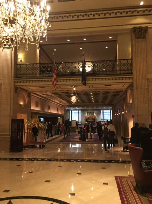 Review Roosevelt Hotel NYC